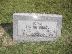 Bertha Drucilla <i>Phillips</i> Brady