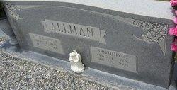 Dorothy <i>Faircloth</i> Allman