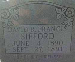 David R. Francis Sifford