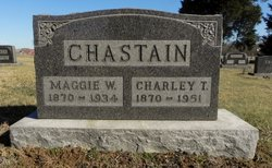 Margaret W <i>Warren</i> Chastain