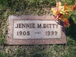 Jennie Mae <i>Richards</i> Ditty