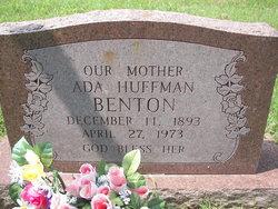 Ada <i>Huffman</i> Benton