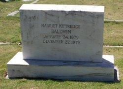 Harriet <i>Kittredge</i> Baldwin