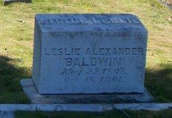 Leslie Alexander Baldwin