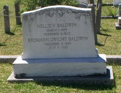 Nellie V <i>Curtis</i> Baldwin