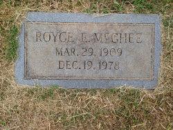 Royce E McGhee