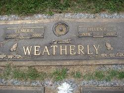 Helen F <i>Jonas</i> Weatherly
