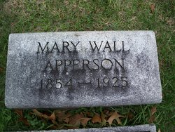 Mary Wall Apperson