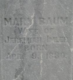 Mary <i>Baum</i> Imler