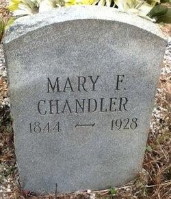 Mary Frances <i>Ray</i> Chandler