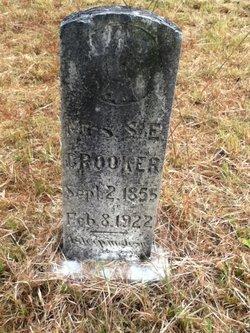 Mrs S E Grooker
