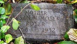 Susan Matilda <i>Moser</i> Royer