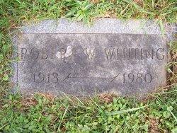 Robert W Bob Whiting