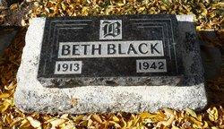 Elizabeth Beth <i>Scott</i> Black