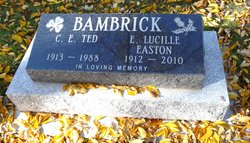 Elizabeth Lucille Lucille <i>Easton</i> Bambrick