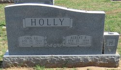 Oma Lou <i>Miller</i> Holly