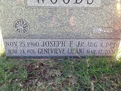 Joseph F Joey Woods