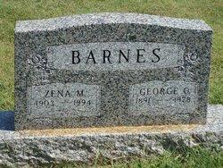 Zena M Barnes