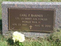 Earl F Barnes