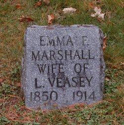 Emma F <i>Marshall</i> Veasey