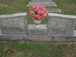 Carrie Mae <i>Rauls</i> Monie