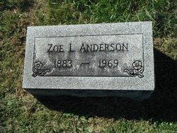 Zoe <i>Beckman</i> Anderson