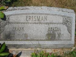 Bertha A. <i>RUBY</i> Erisman