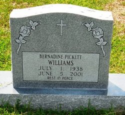 Bernardine <i>Pickett</i> Williams