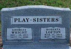 Georgia <i>Wright</i> Play