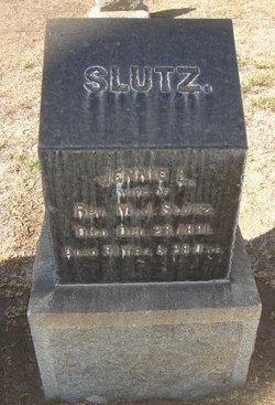 Lydia Jane Jennie <i>Wright</i> Slutz