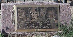 Mary Vivian <i>Baca</i> Baca