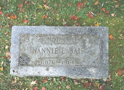 Nannie <i>Edwards</i> Bair