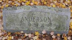 Elgetha Gertrude <i>Bidwell</i> Anderson
