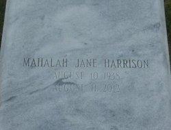 Mahalah Jane Aunt Halah Harrison