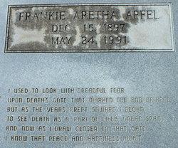 Frankie Aretha <i>Slawter</i> Apfel