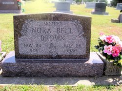 Nora Bell <i>Clark</i> Brown