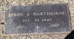 Pvt Byron A. Hartshorne