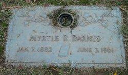 Myrtle Bell <i>Jones</i> Barnes