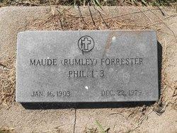 Maud <i>Rumley</i> Forrester