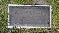 Jane <i>Watts</i> Brennan