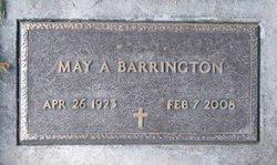 May A <i>Kunz</i> Barrington