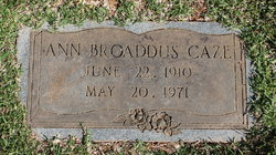 Ann Jewell <i>Broaddus</i> Caze
