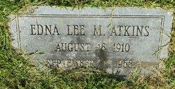 Edna Lee <i>Meriwether</i> Atkins