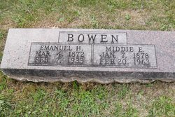 Middie Eunice <i>Douglas</i> Bowen