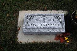 Mary Magdalene <i>Gietzen</i> Snell
