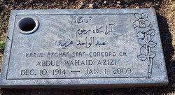 Abdul Wahaid Azizi
