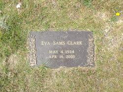 Eva <i>Sams</i> Clark