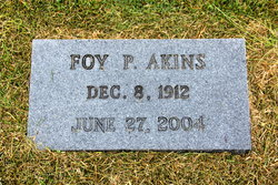Foy <i>Poindexter</i> Akins