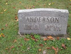 Mary Emily <i>King</i> Anderson