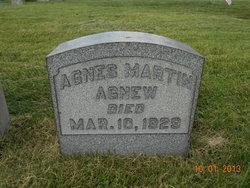 Agnes <i>Martin</i> Agnew
